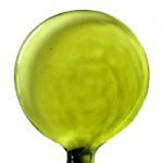 Bastão de Vidro Verde Folha