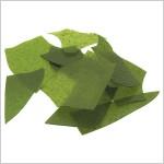 Confetti de Vidro Verde Aventurine Opalescente - COE 96