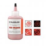 Tinta Glassline Vermelho Alaranjado