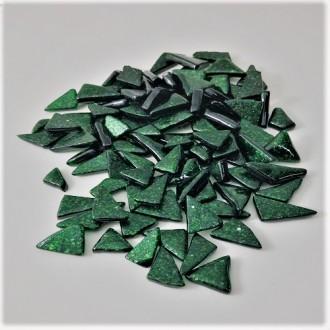 Blister de Vidro Verde Aventurine Opaco  (100grs)