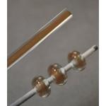Bastão de Vidro Dourado / Cristal - 200 gramas