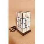 Luminária Tiffany Bancada - Geométrico